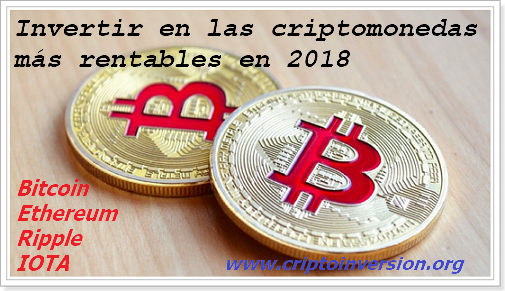 Criptomonedas 2018